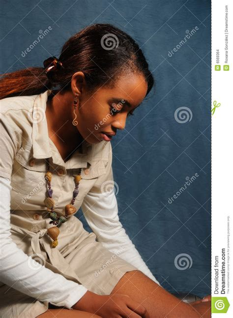 reclining girl reclining african girl stock images image 6569364
