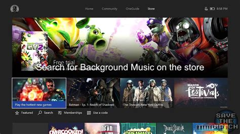 tutorial video background music how to play background music on xbox one easy tutorial