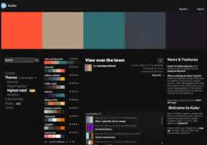 colour schemes for websites 10 resources for creating website color schemes
