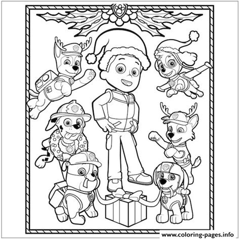 valentines day coloring pages paw patrol paw patrol christmas ryder coloring pages printable