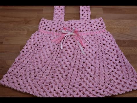como tejer a crochet vestido para nia 12 youtube crochet vestidos para ni 241 as paso a paso youtube