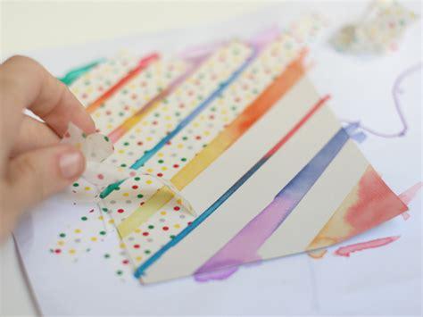 watercolour cards diy diy watercolor washi cards