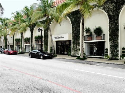 worth avenue landscape architecture of well designed high end retail