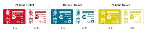 Murah Tokyo Subway Ticket 48 Hours 東京metro地鐵 提供給來訪東京的旅客