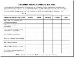 unpacking common standards template standards for mathematical practices chart also look at