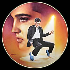 elvis blue suede shoes blue suede shoes elvis hit parade delphi plate