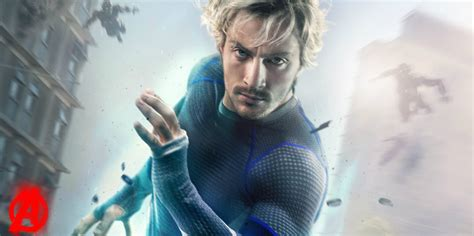 quicksilver movie poster the avengers aaron taylor johnson willing to reprise