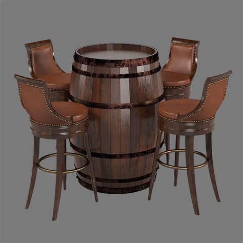 Barrel Style Bar Stools by Bar Furniture Set Max
