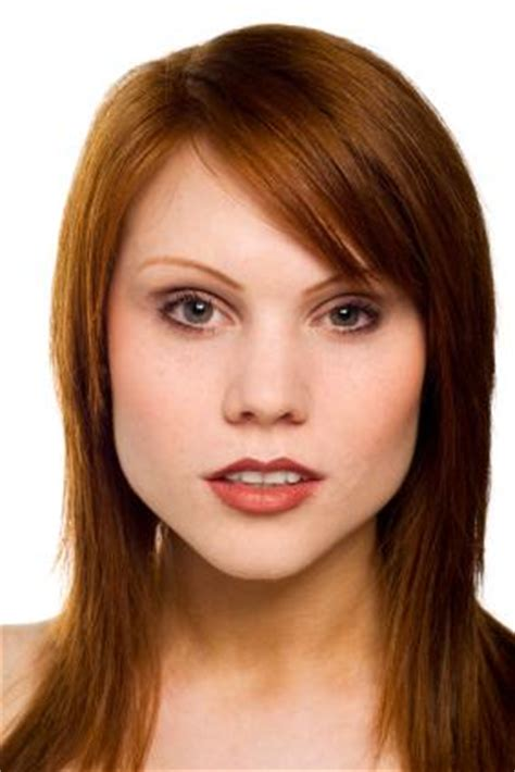 blunt cut hair with long layers long blunt cut with face framing layers and bangs short