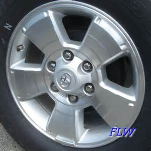 Toyota Stock Rims 2006 Toyota Tacoma Oem Factory Wheels And Rims