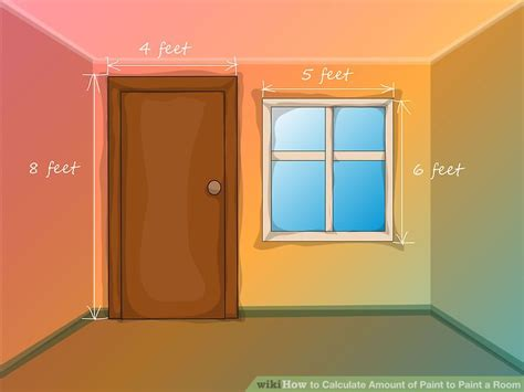 how many gallons of paint per room how to calculate amount of paint to paint a room 9 steps
