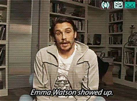 neck tattoo gif james franco has an emma watson neck tattoo and wtf