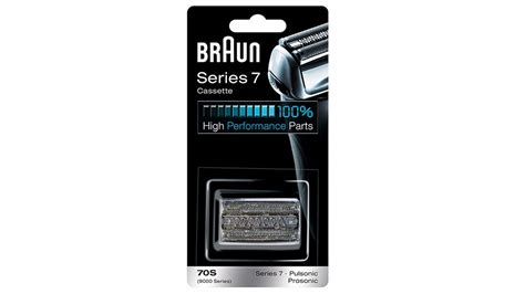 braun series 7 cassette braun series 7 cassette replacement pack silver mens