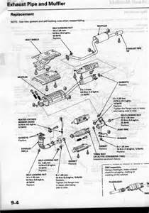 2000 Honda Odyssey Exhaust System Diagram 1999 Honda Accord Exhaust Diagram 1999 Free Engine Image