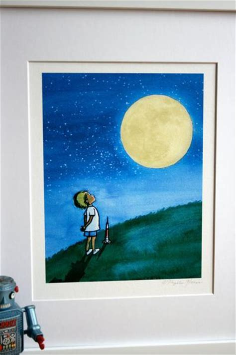 boy   man   moon boys wall art
