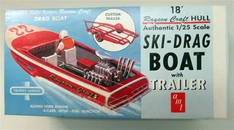 drag queen motorboat oop vintage plastic and wood boat model kits for sale