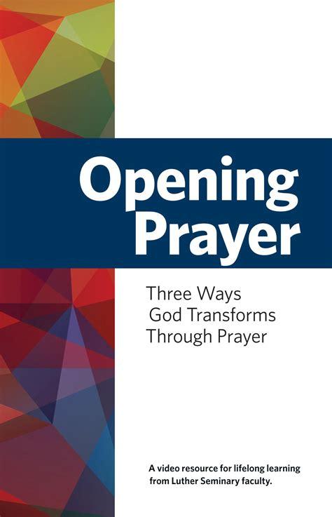 church opening prayer