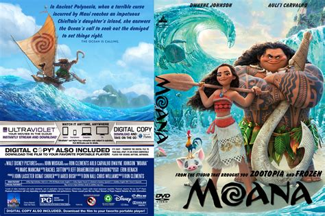 Dvd Moana moana 2017 front dvd covers cover century
