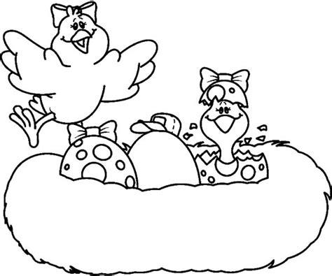 bird hatching coloring page bird egg hatching in bird nest coloring pages bird egg