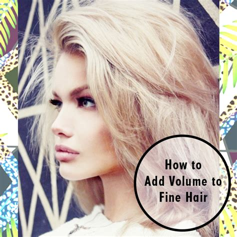 hairstyle for thin volume hair volume hairstyles for fine hair hairstyles