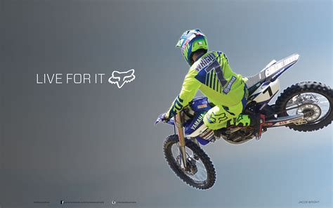 live motocross racing wednesday wallpaper fox riders wright and mosig