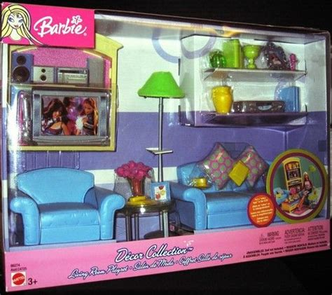 barbie living room barbie decor collection living room playset new barbie
