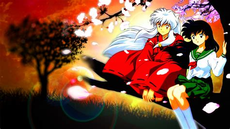 wallpapers hd anime inuyasha kagome inuyasha inuyasha photo 36327017 fanpop