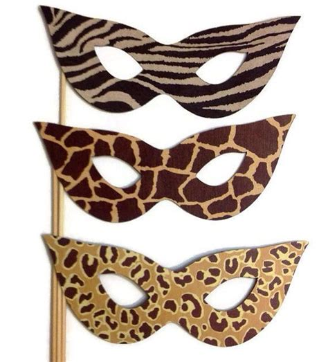 instant download animal print photo booth props safari 11 best images about photo booth on pinterest photo