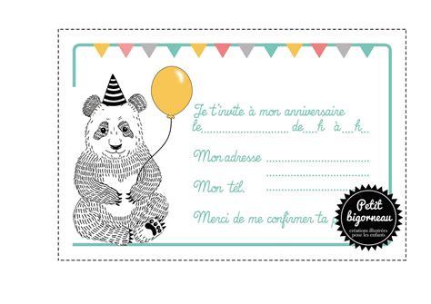 carte invitation anniversaire carte d invitation
