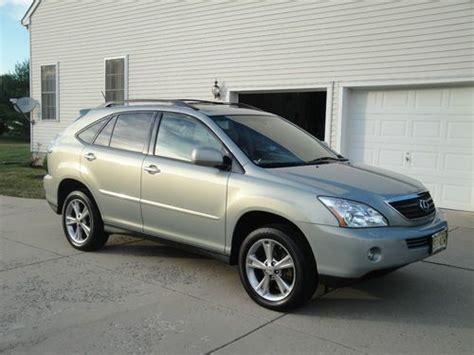 all car manuals free 2006 lexus rx hybrid auto manual purchase used 2006 lexus rx 400h hybrid suv fully loaded with all optional features 14995 in