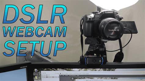 como usar sua camera dslr como webcam nikon youtube