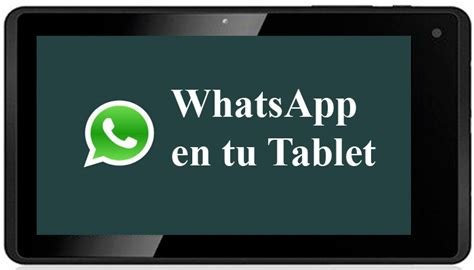 whatsapp for tablets android tablet archivos como hacer para