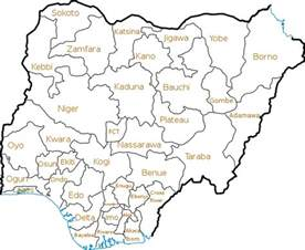 Map Of Nigeria States by File Nigeria States Png Wikimedia Commons
