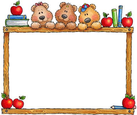 imagenes bordes escolares marcos y bordes para educaci 243 n