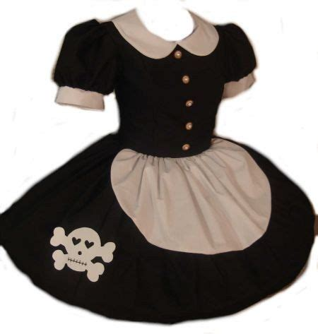rag doll dress black dress with skull rag doll dress with skull