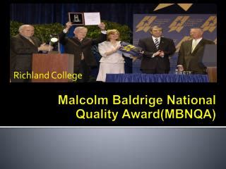 baldrige homepage baldrige national quality program ppt malcolm baldrige national quality award powerpoint