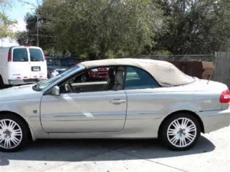 volvo  dr convertible  turbo   miles leather climate pkg youtube