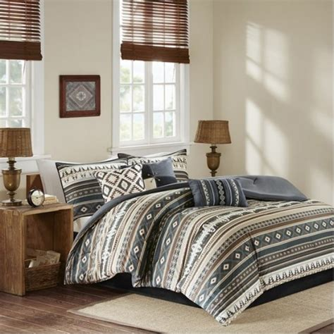 southwestern comforter sets king southwestern black browns comforter set king size
