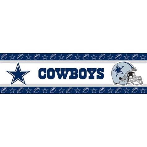 Dallas cowboys nfl peel and stick wall border