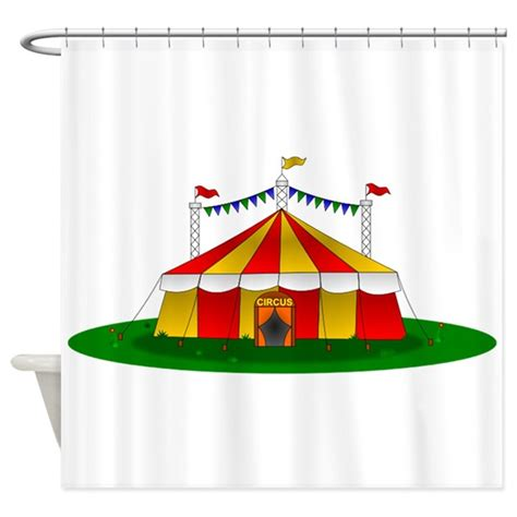 circus tent curtains circus tent shower curtain by idesignexpressions