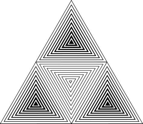 triangle pattern line best 25 triangles ideas on pinterest rose gold