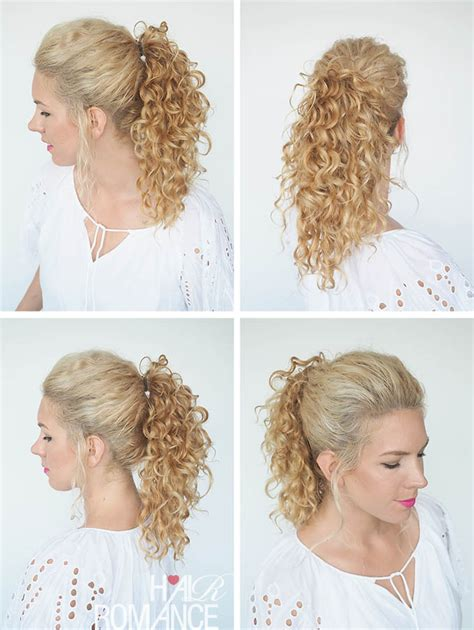 30 curly hairstyles in 30 days day 8 hair romance 30 curly hairstyles in 30 days day 29 hair romance