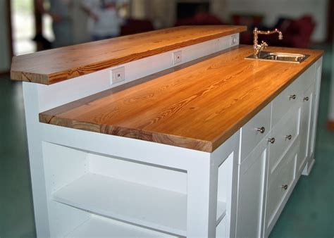 Pine Countertops by Reclaimed Longleaf Pine Wood Countertop Photo Gallery By
