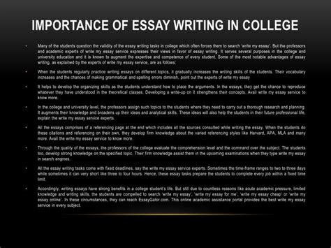 Importance Of School Essay by Ppt Write My Essay Australia Write My Essay Service By Uk Experts Powerpoint