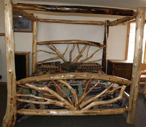 log bed plans log furniture barnwood furniture rustic furniture