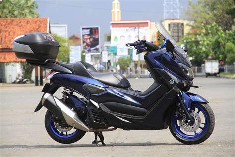 Lu Tembak Motor Nmax modifikasi yamaha nmax si blueskie doyan turing