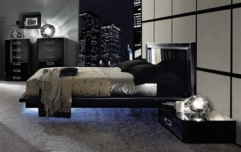 urban modern playlist bedroom collection high end for la star composition 04 modern italian bed black