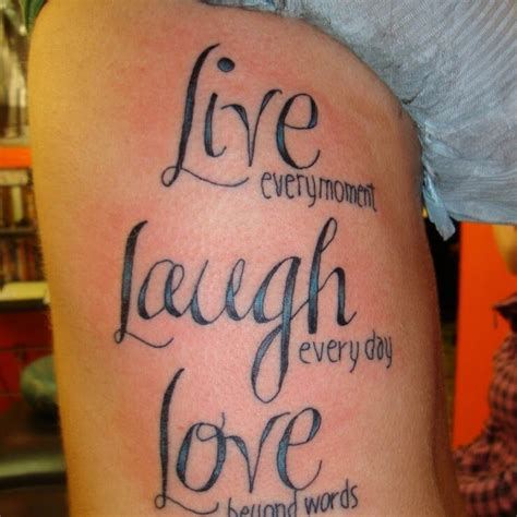 word love tattoo designs 10 quote tattoos for images and pictures