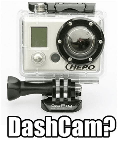 gopro as can i use my gopro as a dashcam