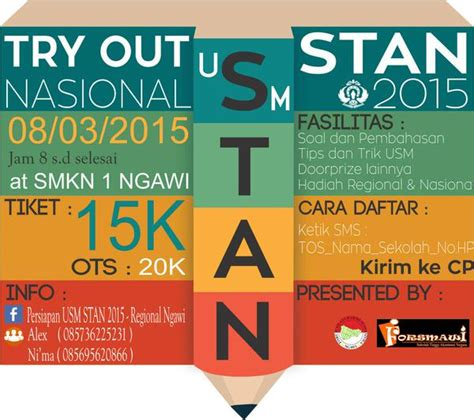Tries Out by Try Out Stan Regional Ngawi